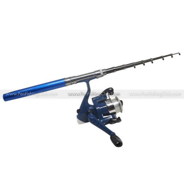 เบ็ดปากกา รอกสปินนิ่ง 1.6เมตร สีน้ำเงิน