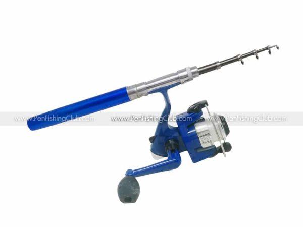 เบ็ดปากกา-1เมตร-รอกสปิน-สีน้ำเงิน